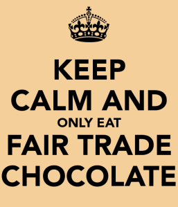 Keep Calm Fair Trade Chocolate